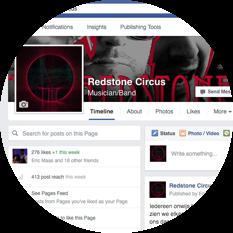 facebook crop rond